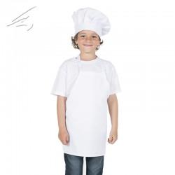 Delantal Peto infantil c/blanco